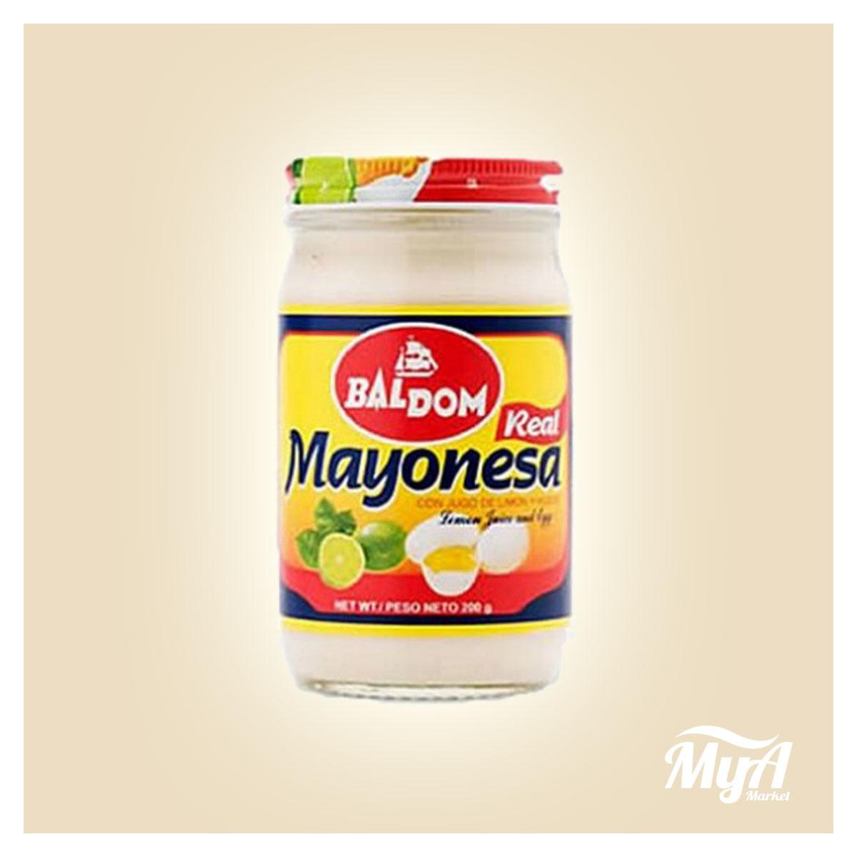 Mayonesa Baldom 200gr