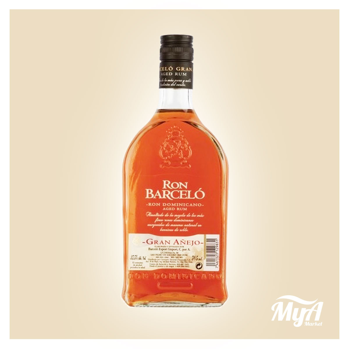 Barcelo' Gran Anejo 700ml
