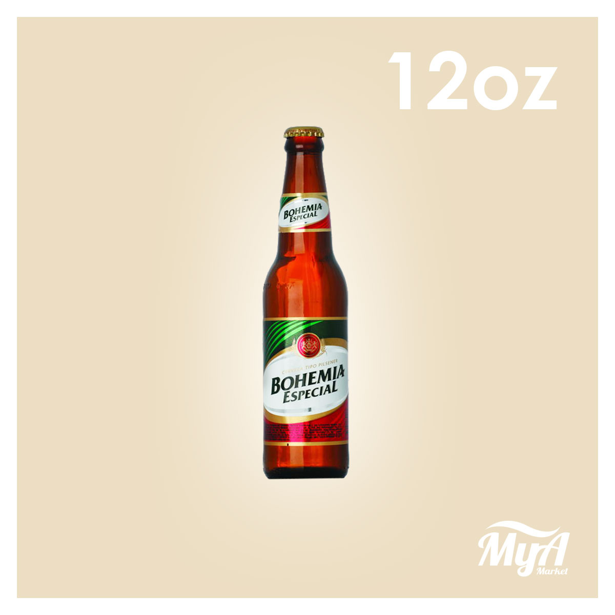 Cerveza Bohemia Pequeña