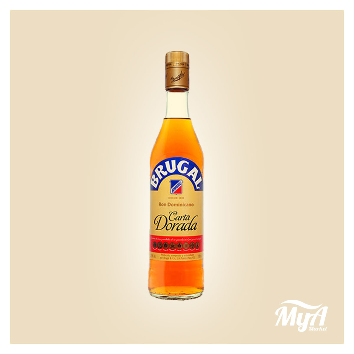Brugal Carta Dorada 700ml