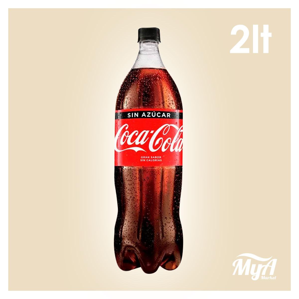 Coca Cola Sin Azúcar 2 Lt