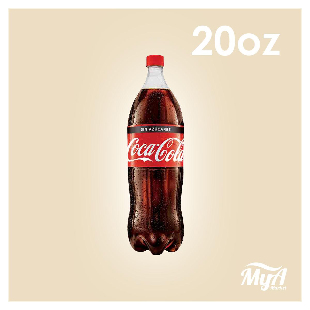 Cola Cola Sin Azucar 20 OZ
