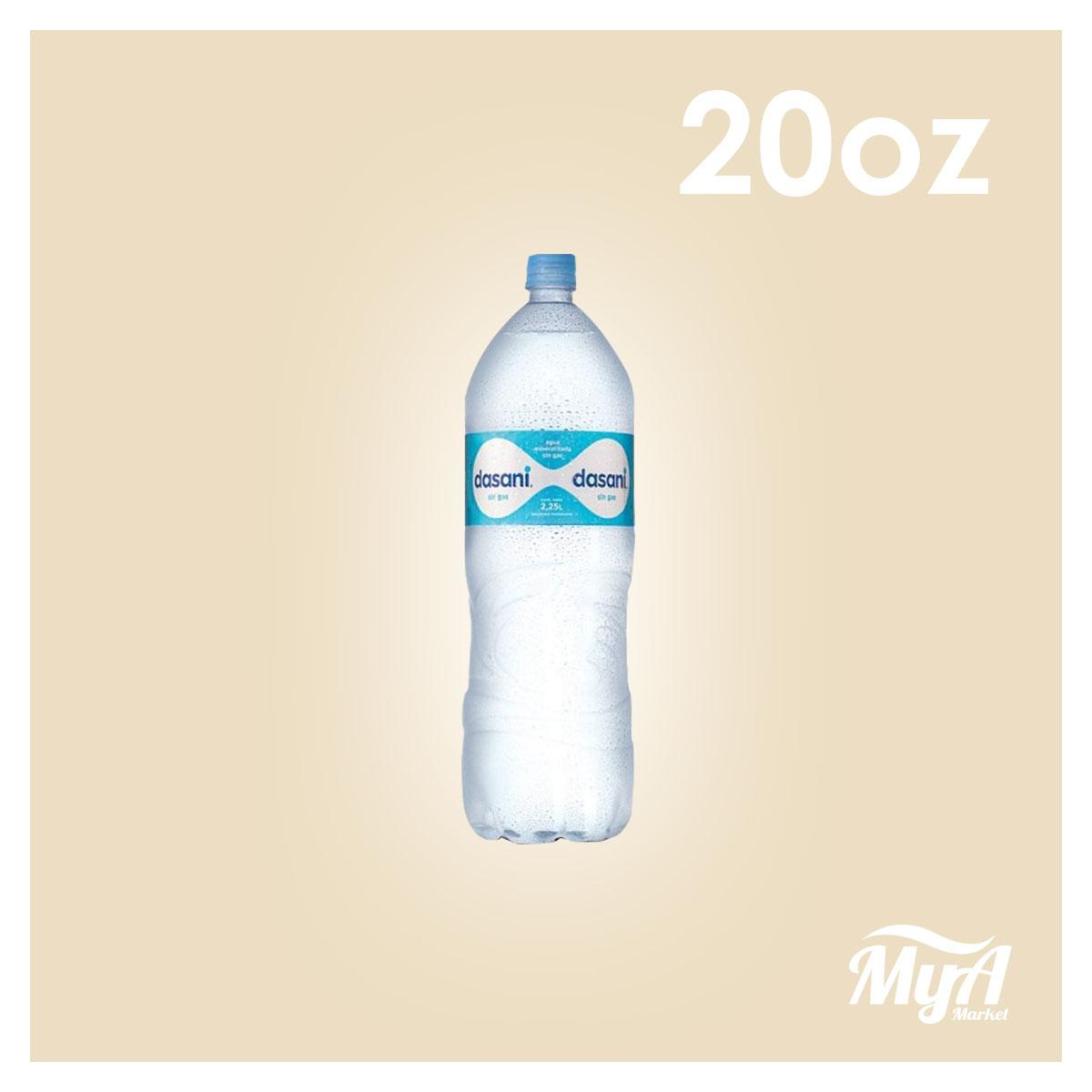 Agua Dasani 20 oz