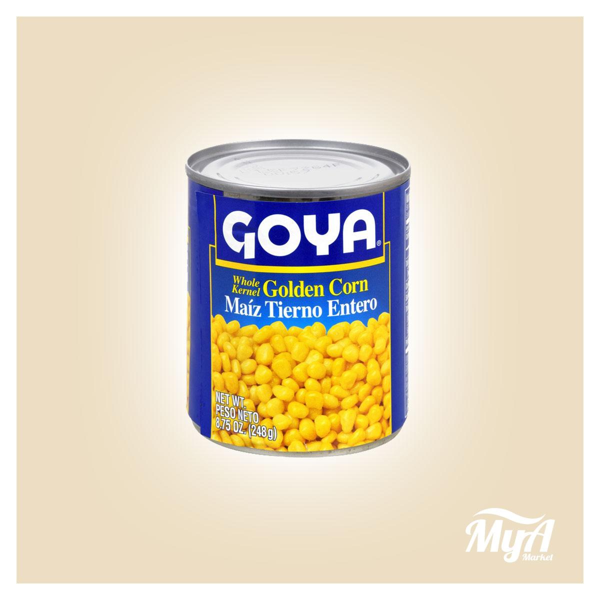 Maiz Tierno Entero Goya 8oz