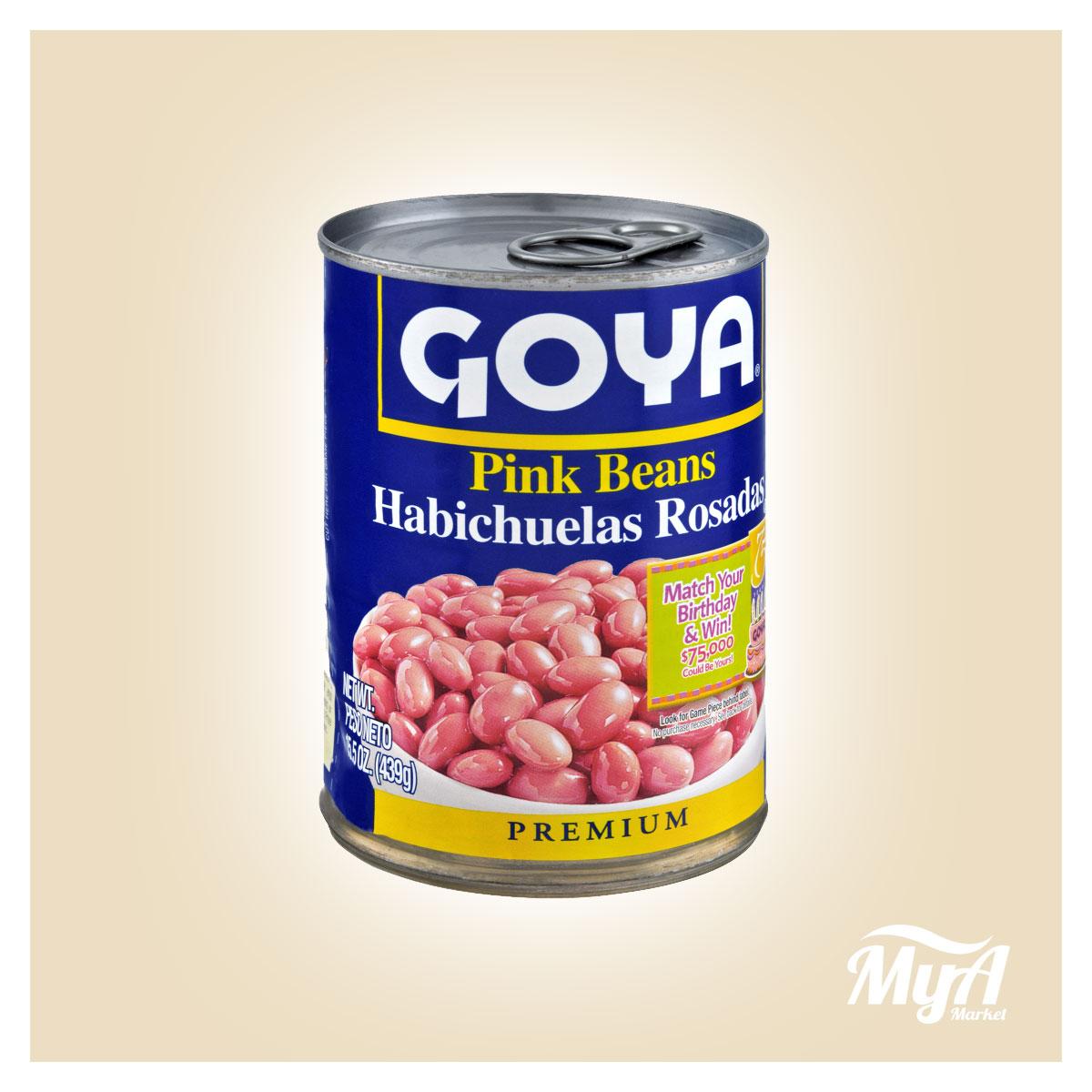 Habichuelas Rosadas Goya