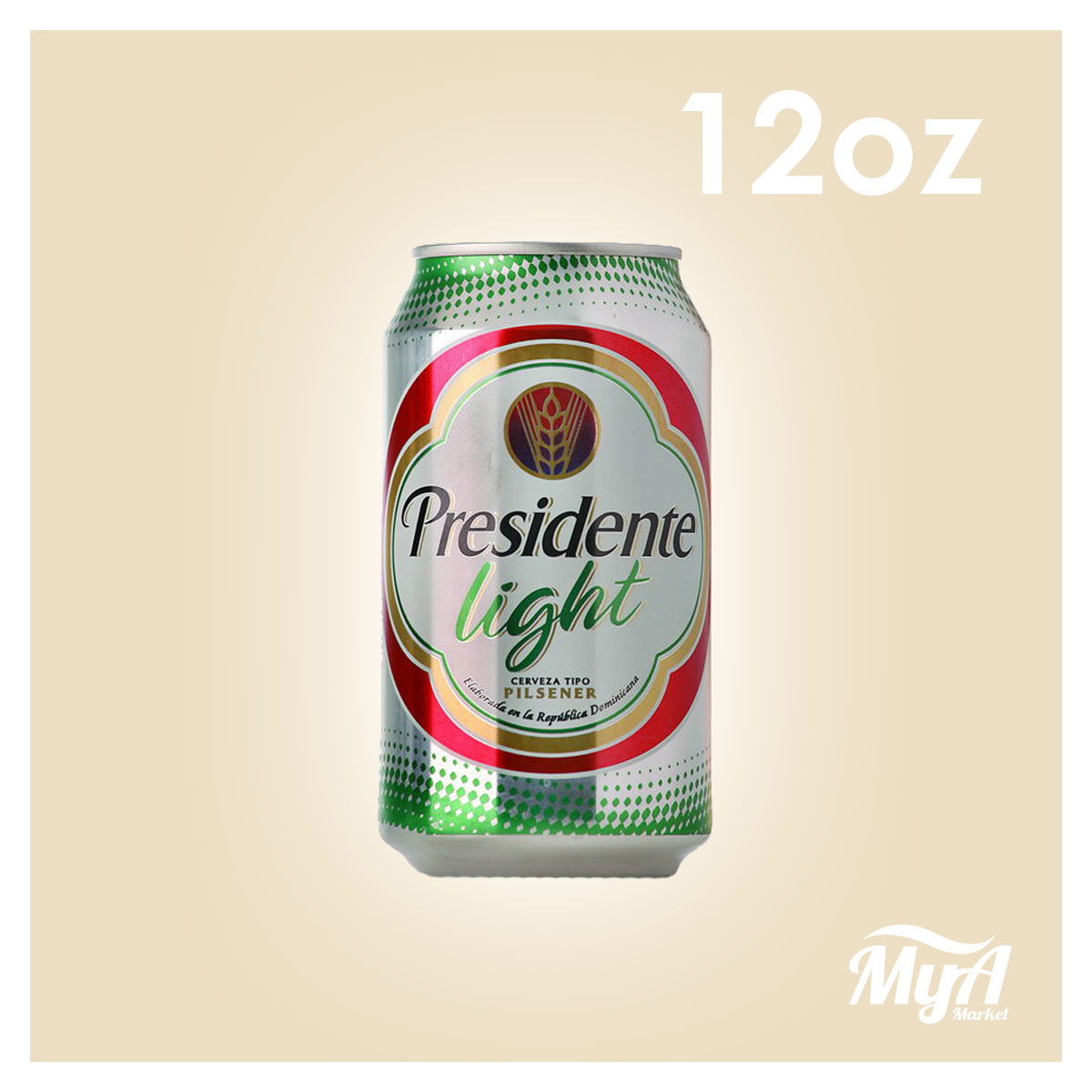 Presidente Lata Light 12Oz