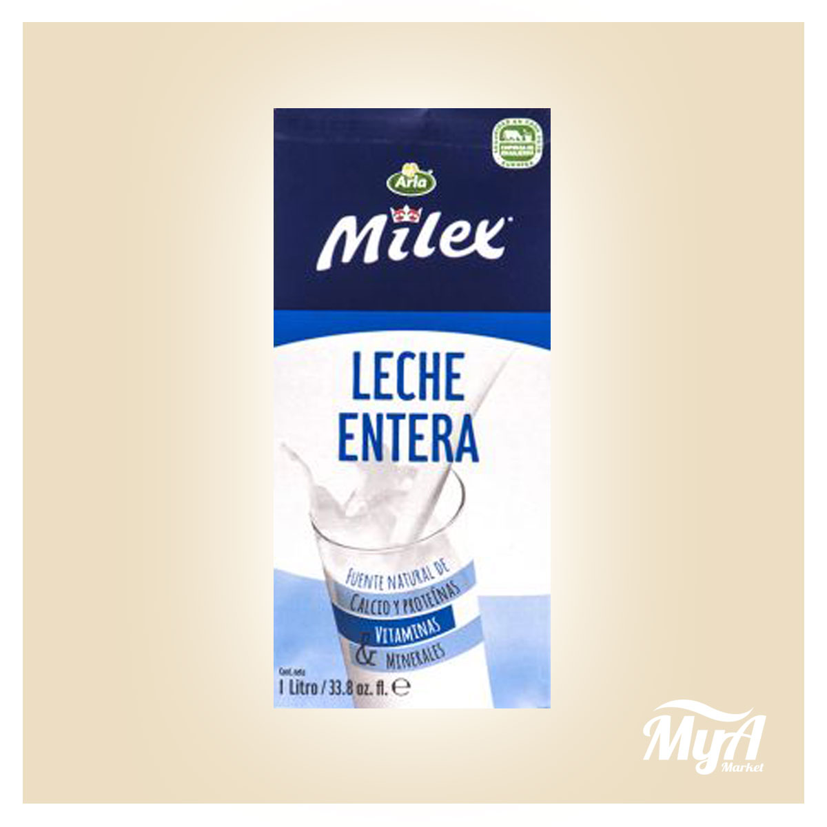 Leche Milex Entera 1lt