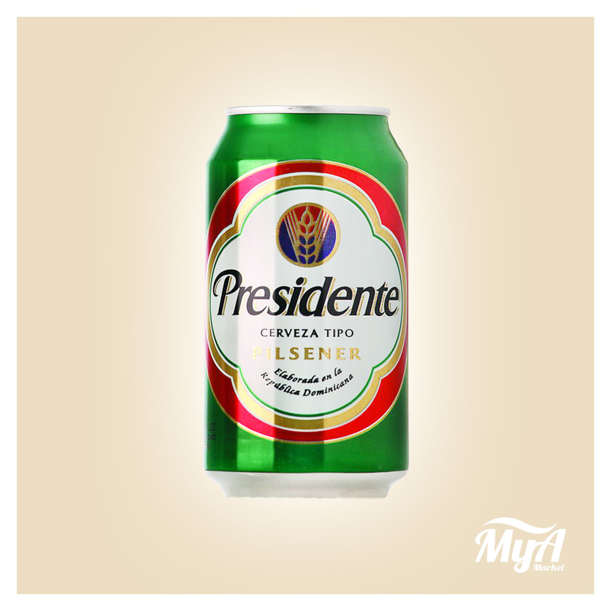 Presidente Lata Regular 12Oz